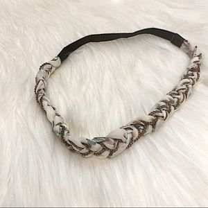 Floral braided headband Forever 21 hair accessory